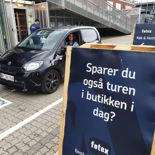 Bestil online og få dine varer leveret i baggagerummet – Køb & Hent hos Føtex